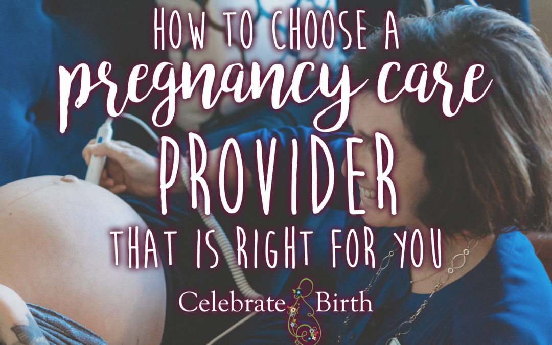 How to Choose a Pregnancy Care Provider That is Right for You