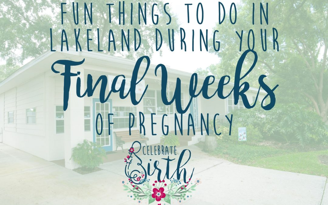Fun Things to do in Lakeland During Your Final Weeks of Pregnancy